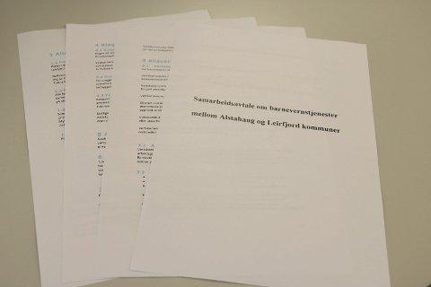 Barnevern: Barnevernstjenesten på Ytre Helgeland får kritikk etter at de sendte ut feil sakspapirer i en barnevernssak.  Foto: Jill-Mari Erichsen
