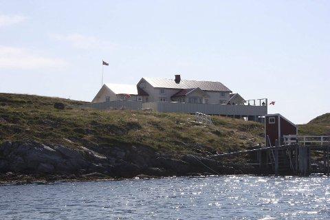 Sakrisøya: Dette er en unik eiendom på Helgeland med rettigheter til to landfaste laksenøter. Alle foto: Privat