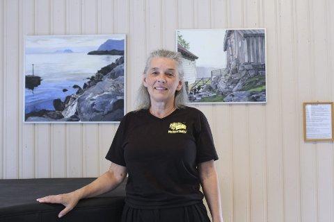 Kulturverkstedet: – Mange liker kunsten på veggene, sier daglig leder Tanja Åkvik.