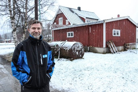 INFORMERER: Sigmund Johansen i Kjøleservice Helgeland AS skal snakke om alternativer til oljefyring på et  orienteringsmøte torsdag.