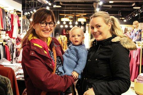 Julehandel Bente Svendsen, Anna Torgersen og Tone Skaland