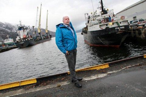 IKKE OVERRASKET: Styreleder i Mosjøen havn, vefsnordfører Jann-Arne Løvdahl.