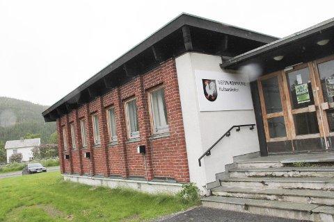 BORT MED RØKTA: Her i Oktaven, der Folketannrøkta holdt til tidligere, har Vefsn kulturskole øvingslokale i dag. De har også øvingslokaler på 16 andre steder.