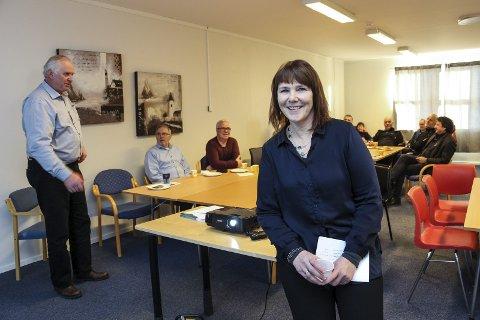 ANSETTELSE: Anne Karin Fagervik, daglig leder i Friskgården Helgeland, ser fram til å få nye medarbeidere på plass.