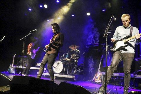 POPULÆRE: De fire medlemmene i Kråkesølv har base i Bodø, og er populære på festivaler med sine nordnorske tekster.