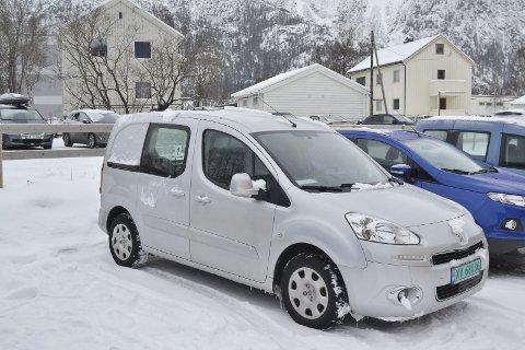Melder ikke fra: Omsorgsdistrikt Sør i Mosjøen har blitt strengere på rutinene rundt leasingbilene sine for å unngå storregning. Foto: Mathilde Ånes