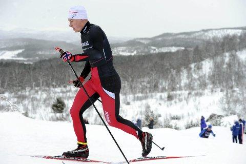 Langrenn NM junior i Harstad. Jesper Abelsen Andreasen ble nummer 65 i klassisk. Foto: Arne Brunes