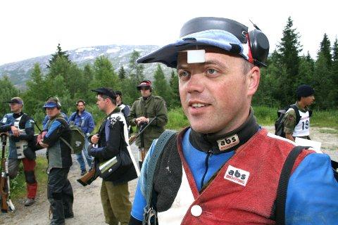VANT: Jøran Nordhuus, Brønnøysund skytterlag ble samlagsmester igjen.