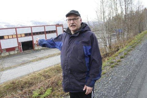 Ikke lukt: – Dersom det skal foretas målinger av luktutslipp forutsetter vi at det er drift i anlegget, sier leder i Nyland og omegn velforening, Tor Evensen. Arkivfoto: Jon Steinar Linga