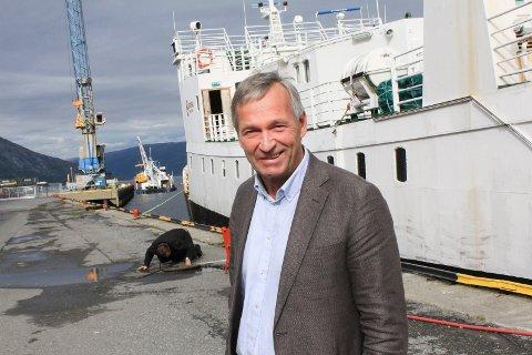 TILBAKE: Fra 1. juni er Kurt Jessen Johansson tilbake i direktørstolen i Mosjøen havn. Foto: Jon Steinar Linga