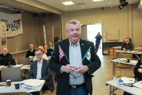 GJENNOMGANG: Leif Lindholm, avtroppende leder i Sagavegforeningen, anbefaler det nye styret å ta  en grundig vurdering av hensikten med samarbeidsprosjektet.