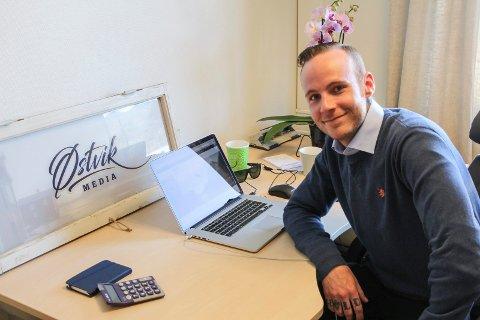 Jørn Østvik fra Mosjøen starter et nytt selskap innenfor design, trykk og reklame.