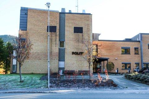 ROLIG: Politihuset i Mosjøen
