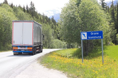 GRANE: 18. mai begynner Hæhre å jobbe i fjellskjæringer i Grane kommune, nærmere bestemt sør for Tosenkrysset.