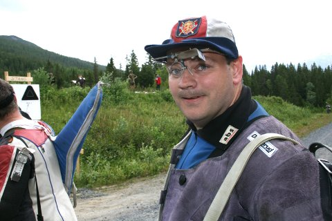 TRE STRAKE: Arnt Erik Aune, Beiarn vant alle tre stevnene.
