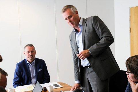 Bård Anders Langø og Børge  Toft