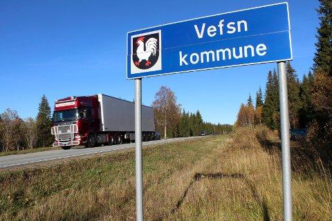 vefsn kommune grane og vefsn kommune skilt E6.