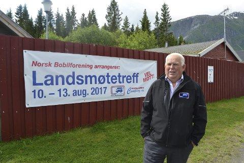 Gleder seg: Per Hansen gleder seg til å ta imot flere hundre gjester