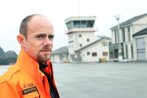 Finn Ove Hofstad, Mosjøen lufthavn, flyplass, Kjærstad