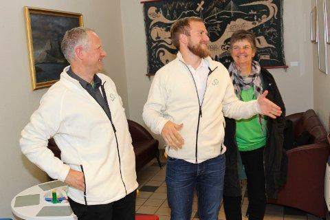 Magnus Myrvoll, Berit Hundåla og Willfred Nordlund