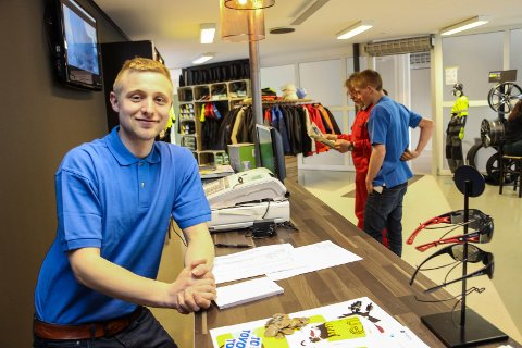 Morten Albertsen Stormo  ny butik Leland