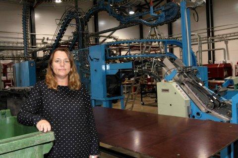 Administrerende direktør Irene Larsen i Nr1 Trykk