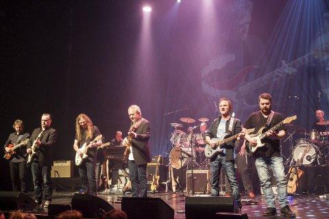 Helgeland gitarunion: Høydepunkter fra denne konserten i Olavshallen vil bli spilt den kommende uka i Sandnessjøen og Mosjøen.