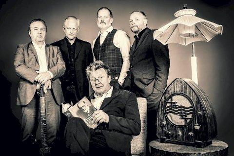 Konsert: LN og Feilslutningene består av Lars Nilsen, Morten Lyen, Harald Schjølberg, Martin Johan Eggan og Egil Rasmussen. pressefoto
