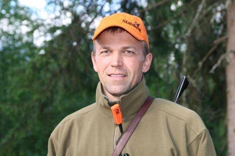 Trist: Jo Inge Breisjøberget forteller at tvangssamenslåingen gjør at  Statskog mister kontrollen over jakt på egen grunn.