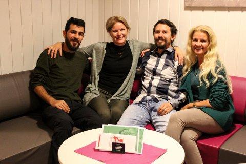 Grane kommune prosjekter Belal Onaizan, Silvia Breivik, Fredrik Næss-Silvik, Berit Rise