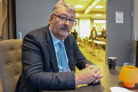 Knut Petter Torgersen ønsker å være med videre i fylkespolitikken.