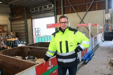 Her skal snart en  robot gjøre sorteringsjobben.Torsdag reiste SHMIL-eierne, anført av Håkon Johansen,  til Malmø for å sette seg inn i hvordan systemet fungerer.