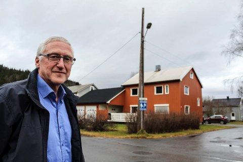 Pensjon: Arne Martin Husby er kommunalsjef for Grane kommune, og planlegger nå å gå av med pensjon