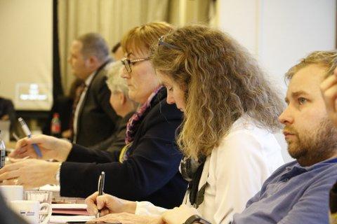 Hanne Nora Nilssen (V) ble jokeren i budsjett- og økomiplan-voteringen. Ap, Sv, V og Rødt fikk 14 stemmer. Den andre koalisasjonen