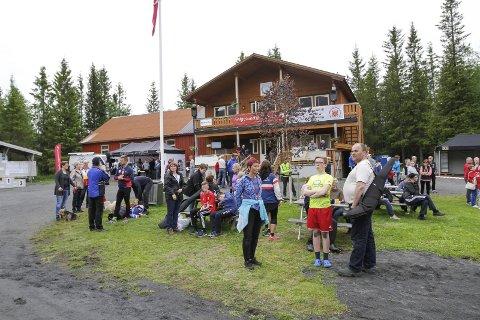 SKOTSMYRA 2015: Sist Mosjøen skytterlag arrangerte NNM var i 2015 (bildet), og i 2023 skal de igjen arrangere landsdelens største skyttersamling. Nå skal laget renovere skytterhuset på Skotsmyra. FOTO: PER VIKAN
