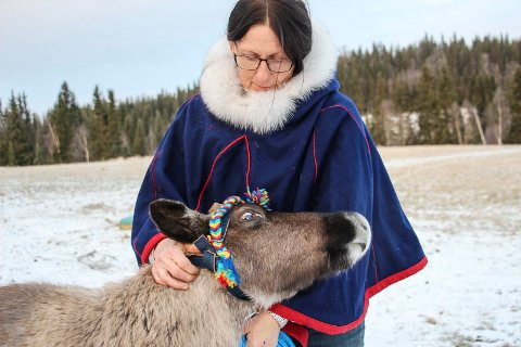Gunhild Nerli og Pepper skal på jobb i Mosjøen også kommende helg.