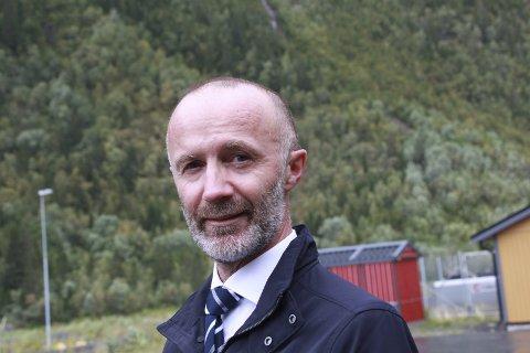 Fylkesråd: Svein Eggesvik, fylkesråd for samferdsel,