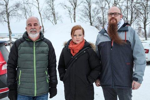 Gunnvald Lindset, Åshild Pettersen og Stian Nordal Jensen kjemper mot ACER og strømprisøkning