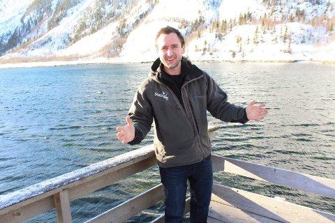 NY JOBB: Vefsna, Mosjøen og indre Helgeland har stått sentralt i yrkeslivet til Gustav Busch Arntsen. Om drøyt to måneder flytter han til Svalbard.