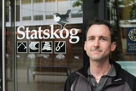 TILBAKE: Gustav Busch Arntsen er tilbake i  jobb på Helgeland etter tre år som naturforvalter hos Sysselmannen på Svalbard.
