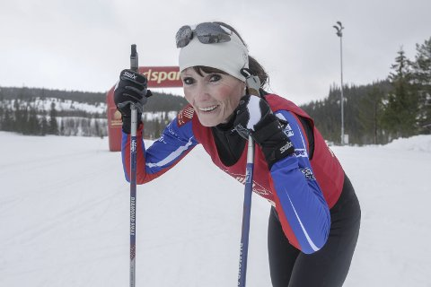 DOBBEL: Karin Kjensli har gjennomført både Vasaloppet og Birkebeinerrennet på fjorten dager. I Birken kom hun topp-10 i sin klasse.