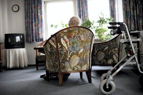 Krangel: Dønna kommune og Alstahaug kommune er ikke enige om en avtale om leie av sykehjemsplass. Illustrasjonsfoto:  Frank May / NTB scanpix