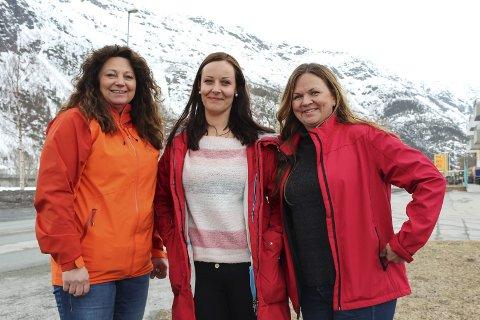 Arrangører: Berit Anita Gluggvasshaug, Else Anita Seljeseth og Ellen Brodtkorb samarbeider om årets barneskirenn.
