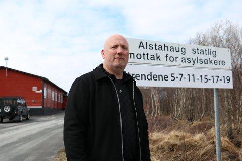 Mottaksleder Kenneth Pedersen på Alstahaug Statlige mottak for asylsøkere