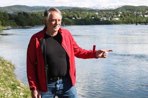 START: Bjørn Brodtkorb i Brodtkorb AS konstaterer at interessen for kjøp av fiskekort i Vefsna er god.