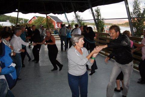 Dansegleden var overbevisende hele natten.