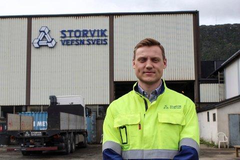 Bjarte Valåmo er den første på Helgeland som blir internasjonal sveiseingeniør (IWE) etter utdanning ved Studiesenteret RKK Vefsn via Skype.