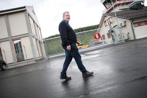 KAMPKLAR: Daglig leder Bjørn Larsen sier at kampen for Mosjøen lufthavn Kjærstad ikke er over.