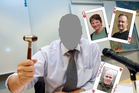 HVEM OVERTAR: Blir det en av disse tre som overtar ordførerklubba?