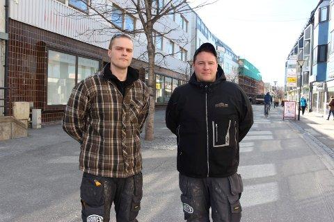 Millionavtale: Brødrene Michael og Carl-Øivind Forsland (til høyre) har fått i havn en millionavtale med Statsbygg.